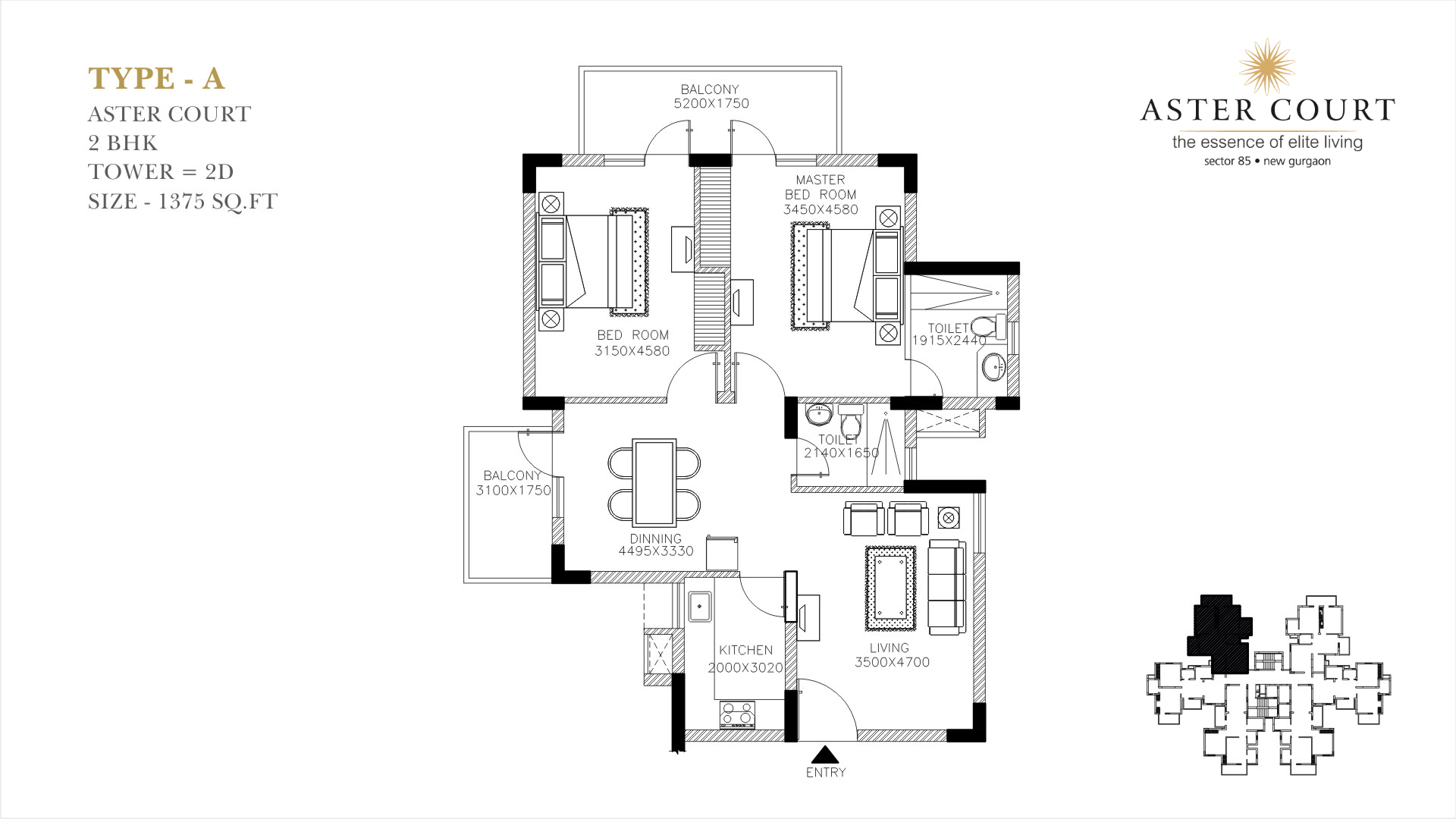 Aster Court Floor Plan 1