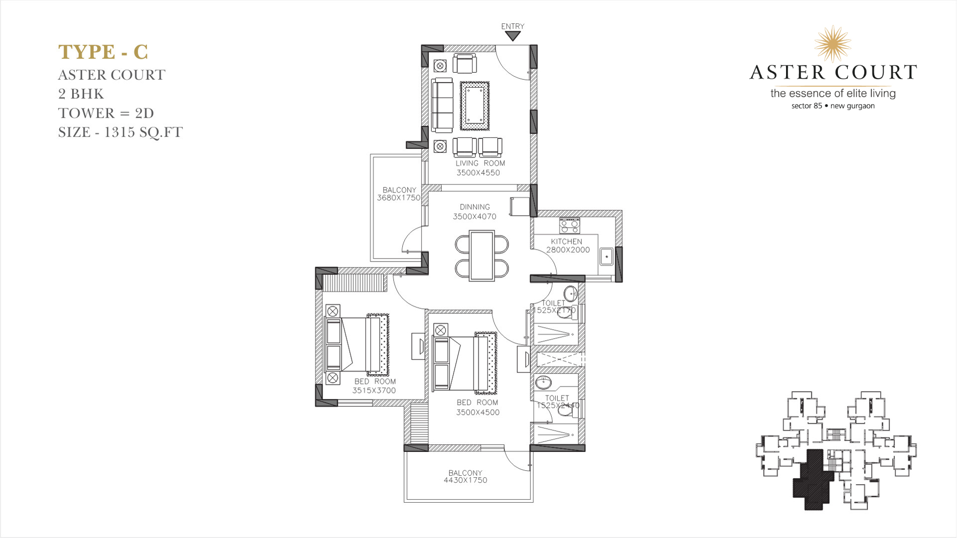 Aster Court Floor Plan 3