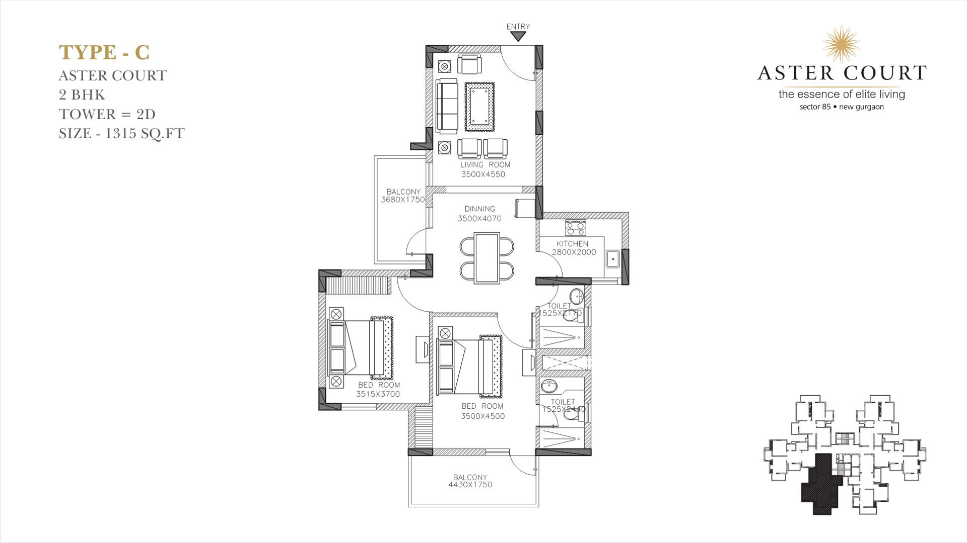 Aster Court Floor Plan 3