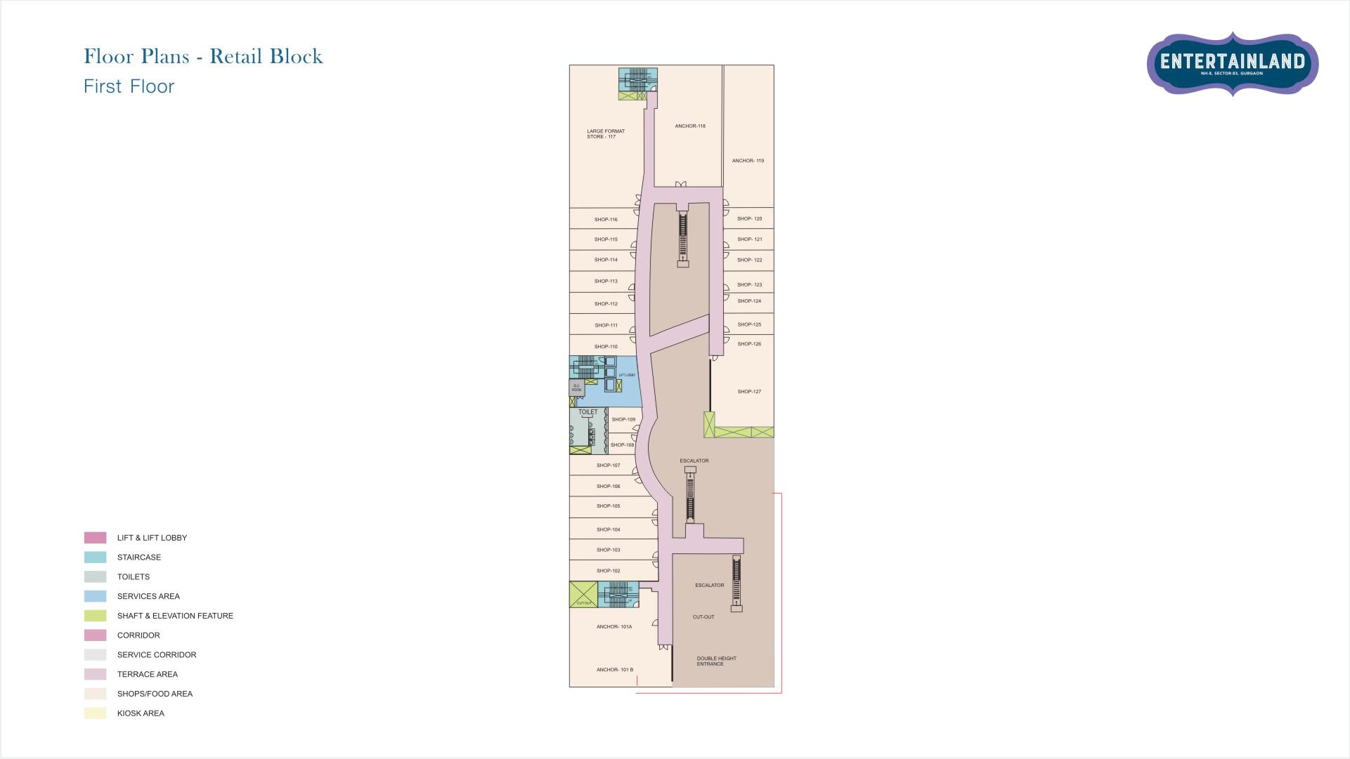 Entertainland Floor Plan 1