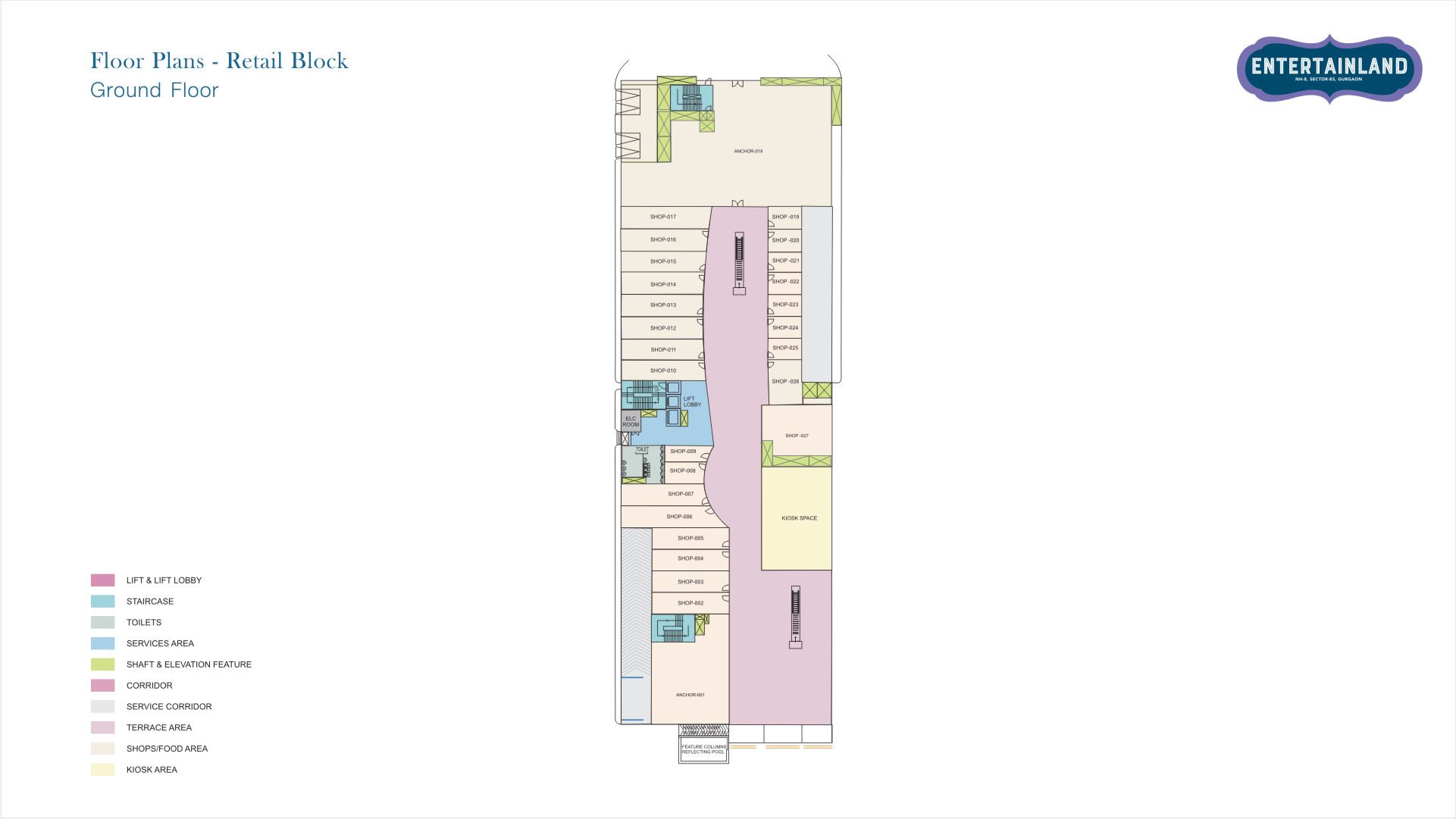 Entertainland Floor Plan 2