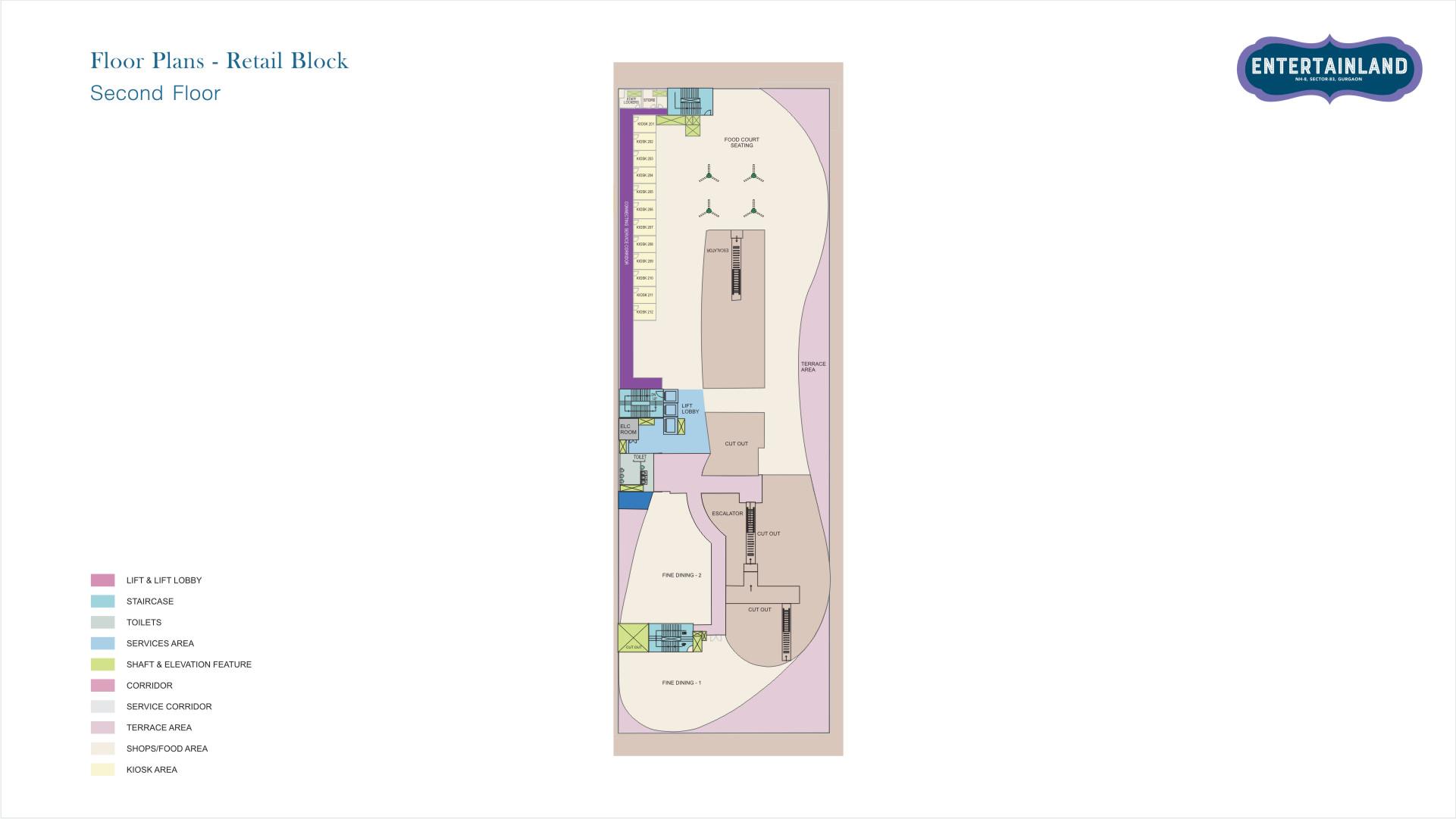 Entertainland Floor Plan 3